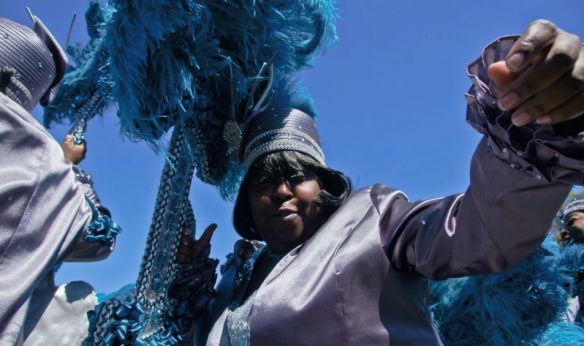 Tamara and the VIP Ladies second line parade, March 2012, photo by CR Photography.